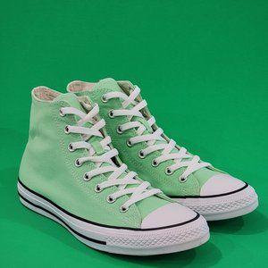 Converse CTAS Hi Classic Aphid Green Sneakers NWT